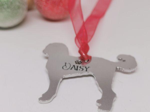 Labradoodle Dog Breed Christmas Decoration - Polish 20210924 191434233