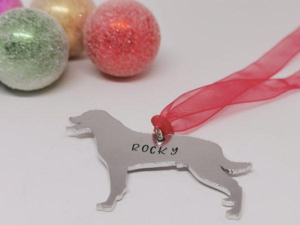 Rottweiler Dog Breed Christmas Decoration - Polish 20210924 191549287