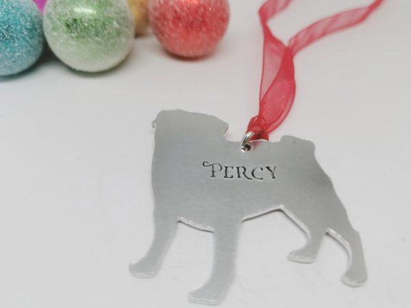 Pug Dog Breed Christmas Decoration - Polish 20210924 191619907