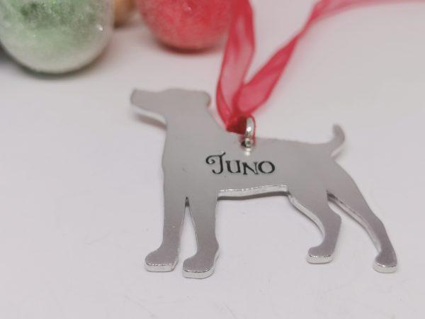 Jack Russell Dog Breed Christmas Decoration - Polish 20210924 191753438