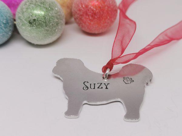 Shih Tzu Dog Breed Christmas Decoration - Polish 20210924 191923572