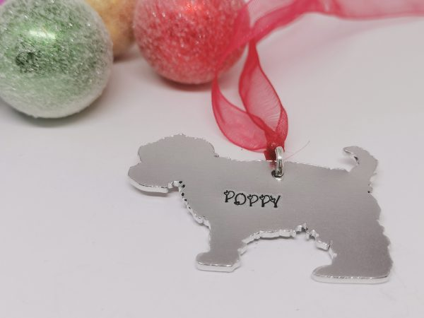 Yorkshire Terrier (Yorkie) Dog Breed Christmas Decoration - Polish 20210924 192208180