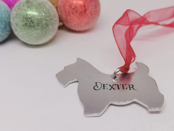 Scottie Dog Breed Christmas Decoration - Polish 20210924 192852041
