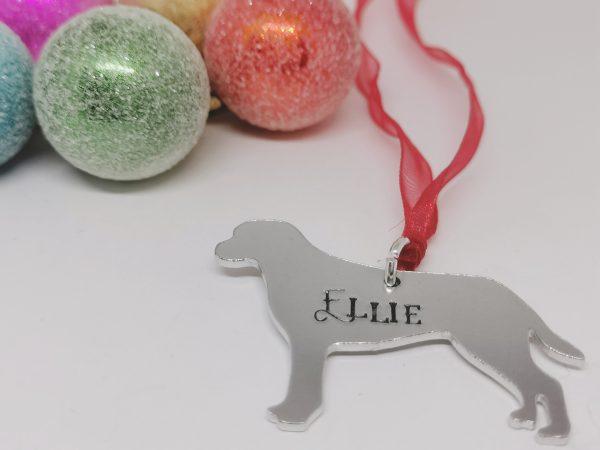 Labrador Dog Breed Christmas Decoration - Polish 20210924 192908947