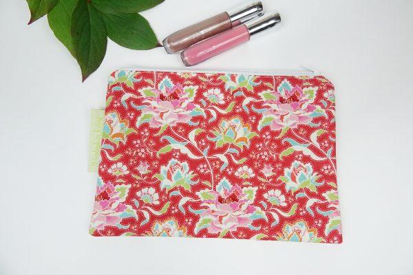 Circus Rose Makeup Bag