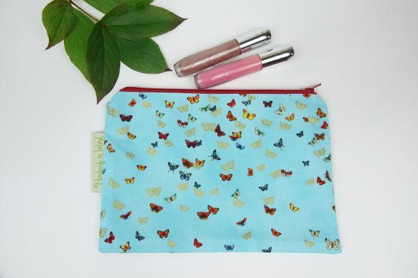Blue Butterfly Makeup Bag - RX302182 scaled