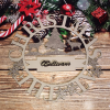 Family Name Christmas Wreath