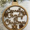 Family Name Christmas Bauble