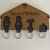 Personalised Key Ring Holder
