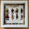 Personalised Female Superhero Frame with Marvel Border