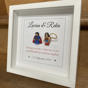 Superhero Wedding Frame