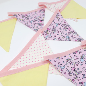 Shoot for the Stars Fabric Bunting
