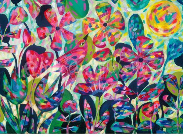Summer Flutter Art Print