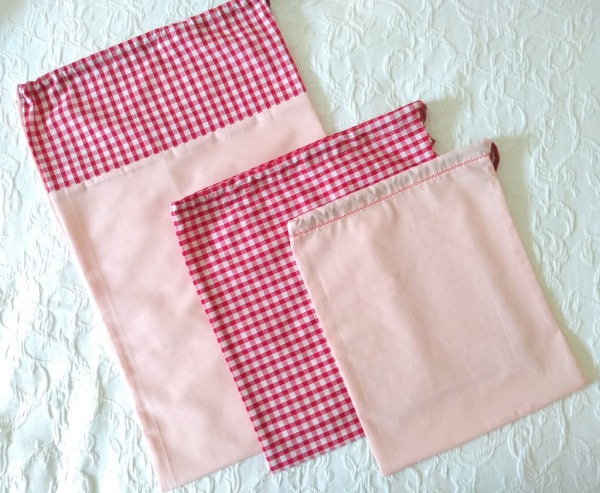 Travel Laundry Bag Set - Travel Set Red 1