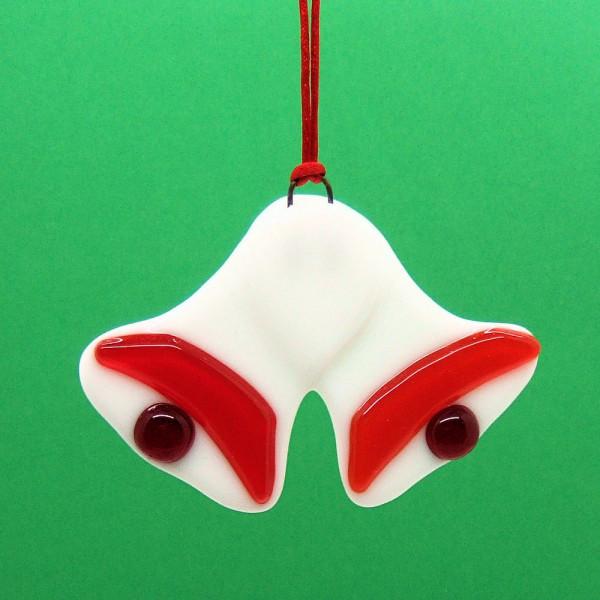 Fused-glass Christmas Bells Decoration - christmas bells 1