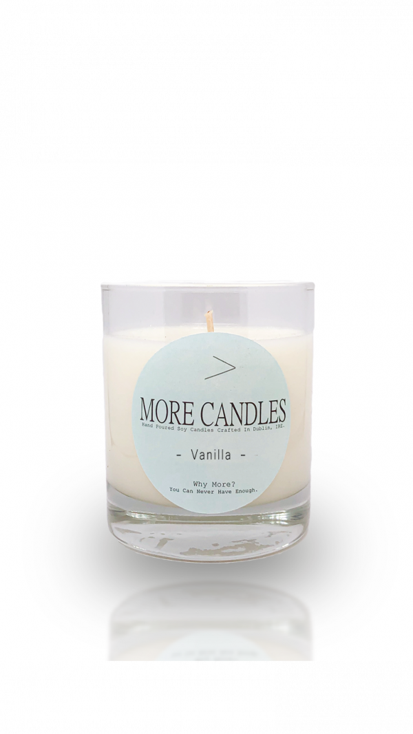 Vanilla Scented Eco Wick Natural Soy Candle