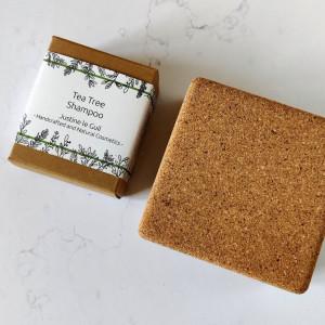 Tea tree shampoo with travel case