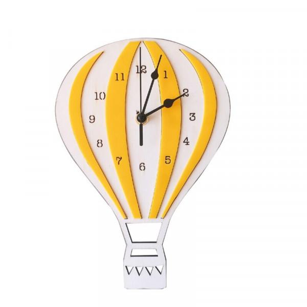 Hot Air Balloon Decorative Kids Clock -