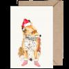 Fox Irish Wildlife Christmas Card