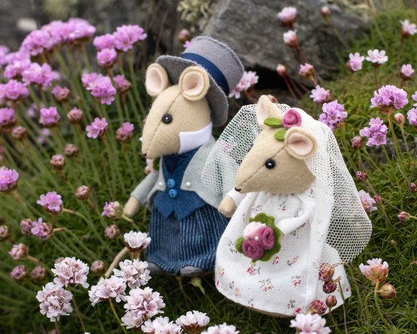 Mouse Wedding Topper PDF Sewing Pattern - mice c 2 scaled