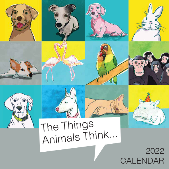 2022 Calendar What animals think!
