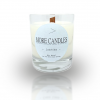 Jasmine Wood Wick Scented Soy Candle
