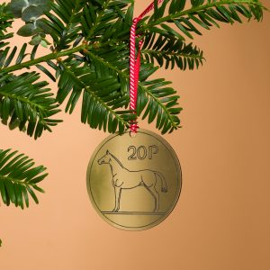 20p Coin Christmas Decoration