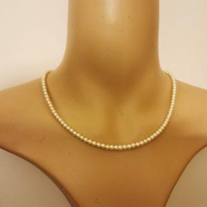 Simple Petite Pearl Necklace
