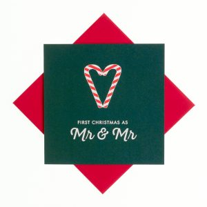 First Christmas as Mr & Mr Card