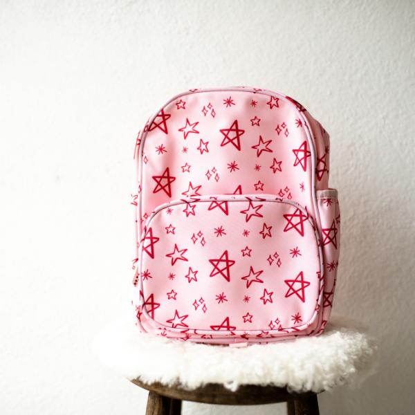 Kids Pink Star Backpack