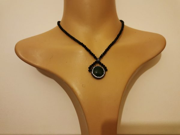 Twisted Green Necklace