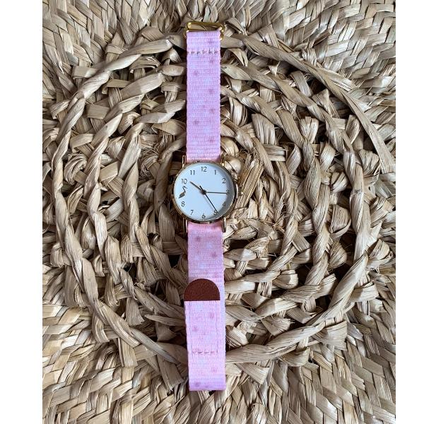 Pink Floral Kids Watch - 16 5e991786 f7ba 447a bb1b