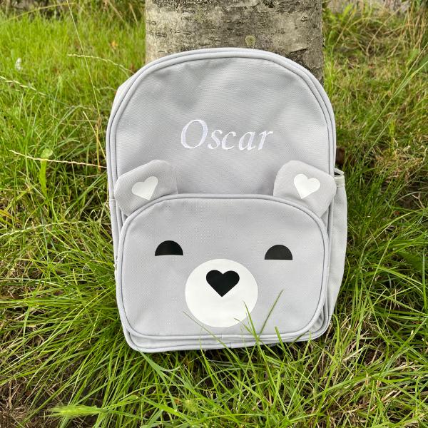 Grey Bear Kids Backpack - 1 2b7273b1 0183 473f ac8a
