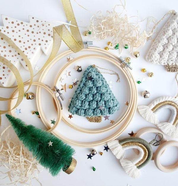 Crochet Christmas Tree Decorations - 20201127 224734