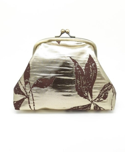 Metallic Gold Clutch Bag - 20210919 174816