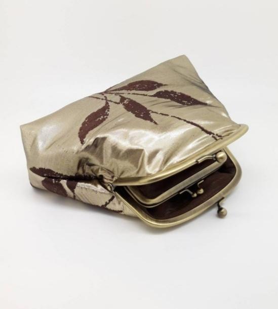 Metallic Gold Clutch Bag - 20210919 174857