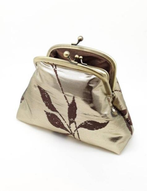 Metallic Gold Clutch Bag