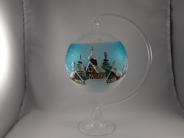 Christmas Glass Candle Holder - Blue - 20210930 210907 scaled
