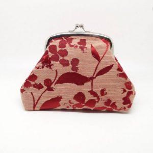Red Leaf Clutch Bag