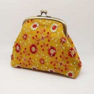 Sunshine Yellow Clutch Bag