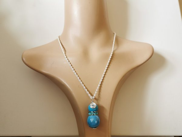 Blue Sky Sterling Silver Pendant