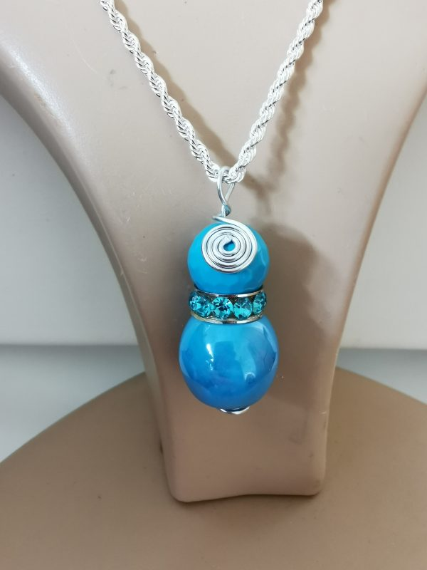 Blue Sky Sterling Silver Pendant - 4 scaled