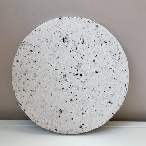 Monochrome Chunky White Tray