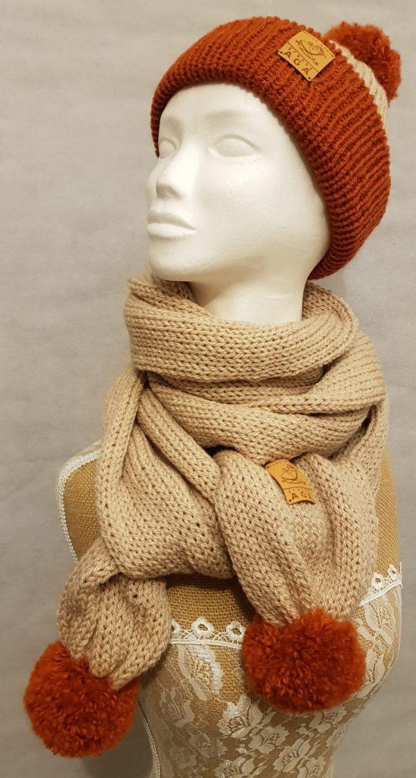 Adult Winter Hat and Scarf Set - 4fc3c04f 3966 448e a932 dc09e54ce618
