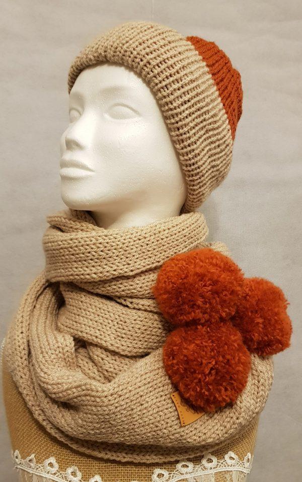 Adult Winter Hat and Scarf Set - 5555da7e 55c1 40ae 8cf7 b868ea591b87