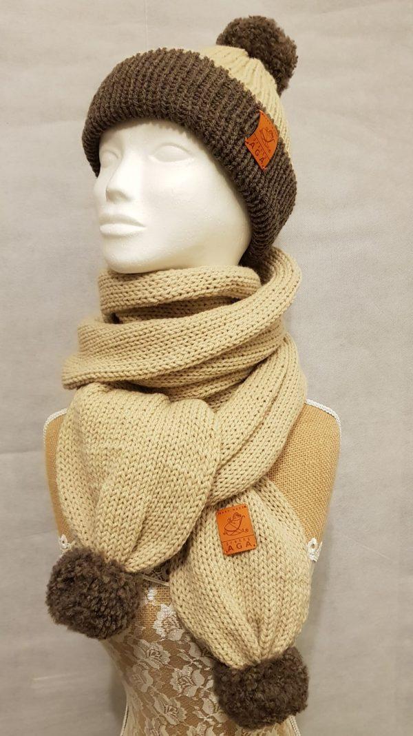 Adult Winter Hat and Scarf Set - 5a137dea b308 46df bd4b a8b693a6540e