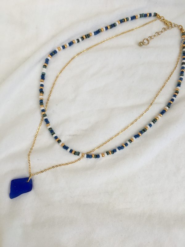 Blue & Gold Double Necklace - 7E499501 6371 4317 A680 021EBCD5CD8B scaled