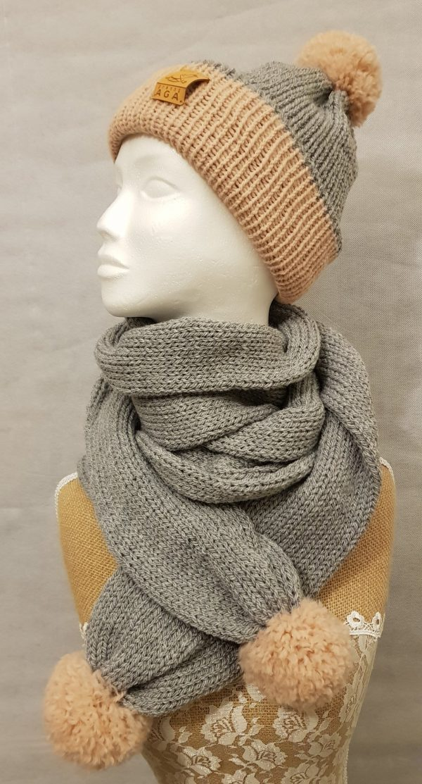 Adult Winter Hat and Scarf Set - 81380951 2783490238377165 7426751147802624000 n