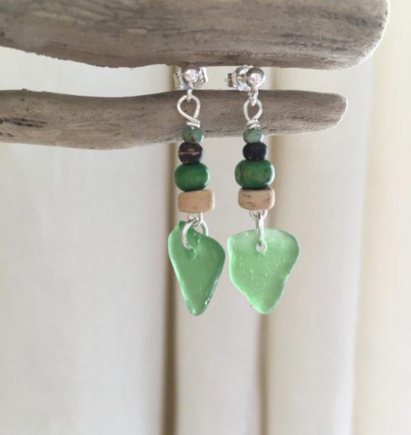 Green Sea Glass Earrings - 8DAC9172 1425 4B59 8334 0B80C9C71037 scaled