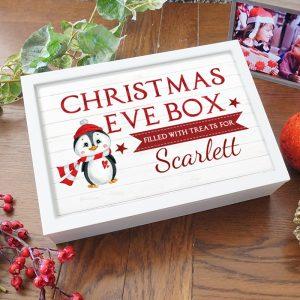 Christmas Eve Box Penguin Design